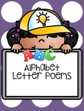 Alphabet Letter Poems