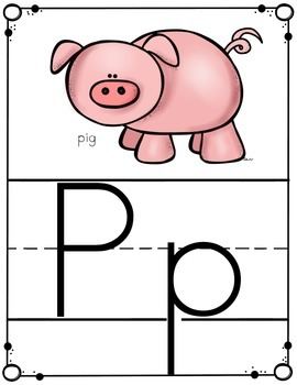 Alphabet Letter Posters -- Ball & Stick