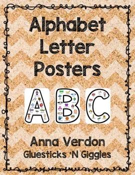 Alphabet Letter Posters