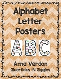 Alphabet Letter Posters