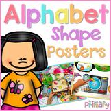Alphabet Shape Sound Posters