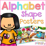 Alphabet Shape Sound Posters