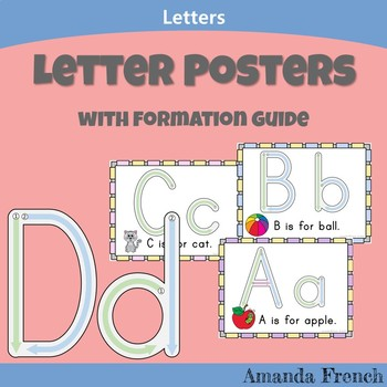 Letters - Formation Posters