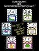 Alphabet Letter Posters-Polka-Dot Pattern. Cute Graphics and Bright Colors!