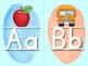 Alphabet Letter Posters: Watercolor Classroom Decor