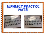 Alphabet Letter Practice Mats
