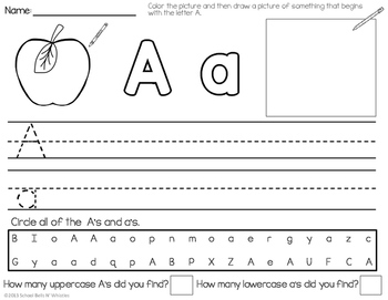 writing a letter alphabet letter writing practice by school bells n 25813 | original 534252 2