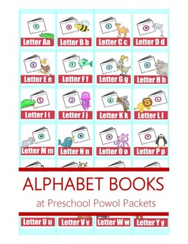 Alphabet - Letter - Printable Mini Book Collection