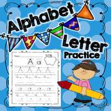 Alphabet Letter Printing Practice