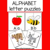 Alphabet Letter Puzzle