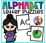 Alphabet Letter Puzzles- Beginning Sounds