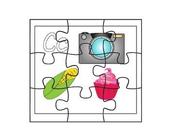 Alphabet Letter Puzzling Puzzle Fun