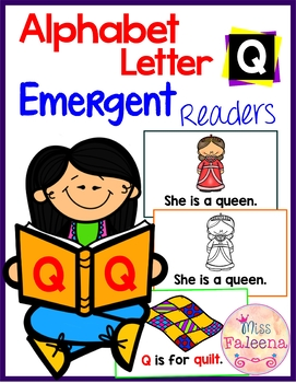 Alphabet Letter Q Emergent Readers