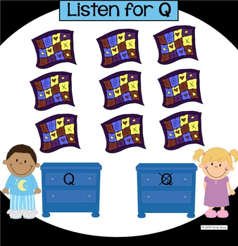 Alphabet -- Letter Q SMARTboard Activities (Smart Board)