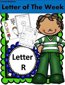 Alphabet Letter R! (14 Letter Recognition/Sound Activites)