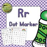 Alphabet Letter R Dot Marker Center