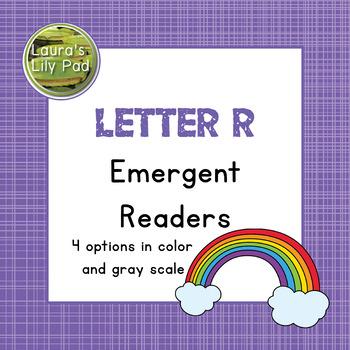 Alphabet Letter R Emergent Readers Set