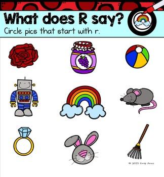 Alphabet -- Letter R SMARTboard Activities (Smart Board)