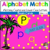 Alphabet Letter Recognition Boom Cards   Distance Learning Game