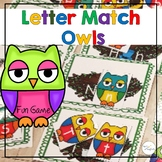 Letter Recognition Beginning Sounds Match Owls Game