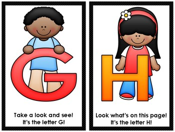 Alphabet Letter Recognition Rhyming Chants