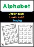 Alphabet Letter Recognition Tracing Worksheet