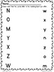 Alphabet Letter Recognition Worksheet Set FREE
