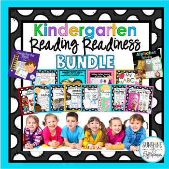 Reading Readiness Alphabet, Letter Recognition, Beginning Sounds & More BUNDLE