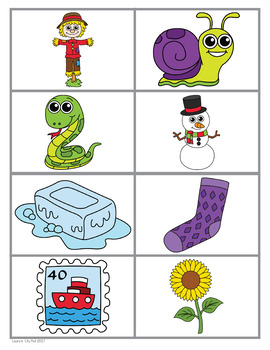 Alphabet Letter S Emergent Readers Set