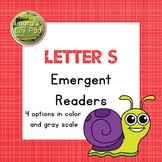 Alphabet Letter S Emergent Readers Set