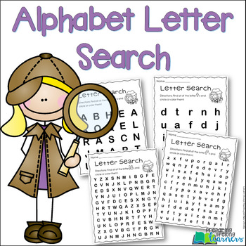 Alphabet Letter Search