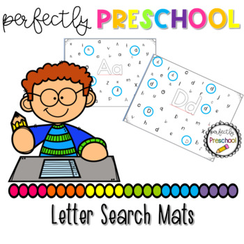 Letter Search Mats