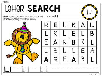 Alphabet Dot Marker Letter Search