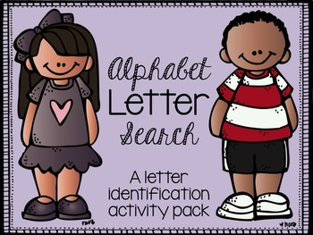 Alphabet Letter Search {Letter Identification}