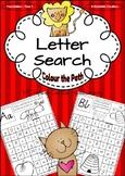 Alphabet Letter Search - VIC Infant Cursive Handwriting {AU Version}