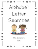 Alphabet Letter Searches