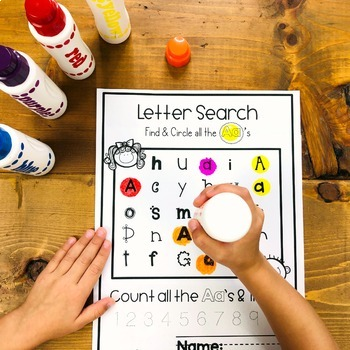 Alphabet Letter Search  | Distance Learning