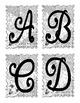 Alphabet Letter Sets Version 1 - Black & White (hand drawn