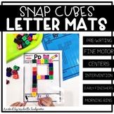 Alphabet Letter Snap Cube Building Mats Activities Prescho