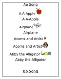 Alphabet Letter Songs!