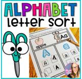 Alphabet Letter Sort Activity- Cut and Paste