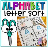 Alphabet Letter Sort Activity- Cut and Paste