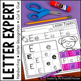 Alphabet Letter Sort No Prep Practice Pages