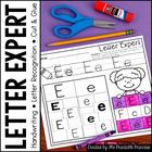 Alphabet Letter Sort No Prep Practice Pages
