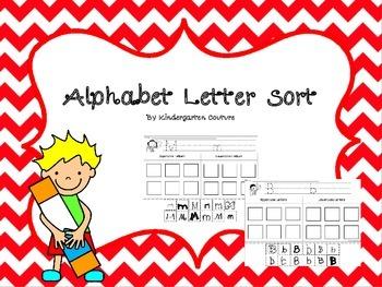 Alphabet Letter Sort A-Z
