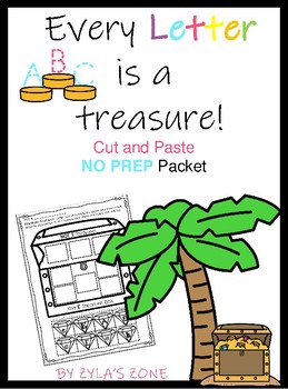 Alphabet Letter Sort:  Every Letter is a Treasure