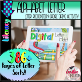 Alphabet Letter Sort Digital Activity