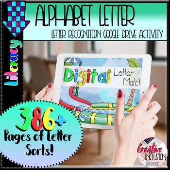 Alphabet Letter Sort Digital Activity