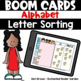 Alphabet Letter Sort Matching - Boom Cards