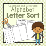 Alphabet Letter Sort: Preschool Letters of the Week